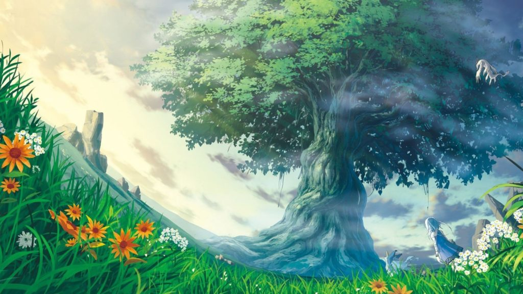 Anime Nature Wallpaper