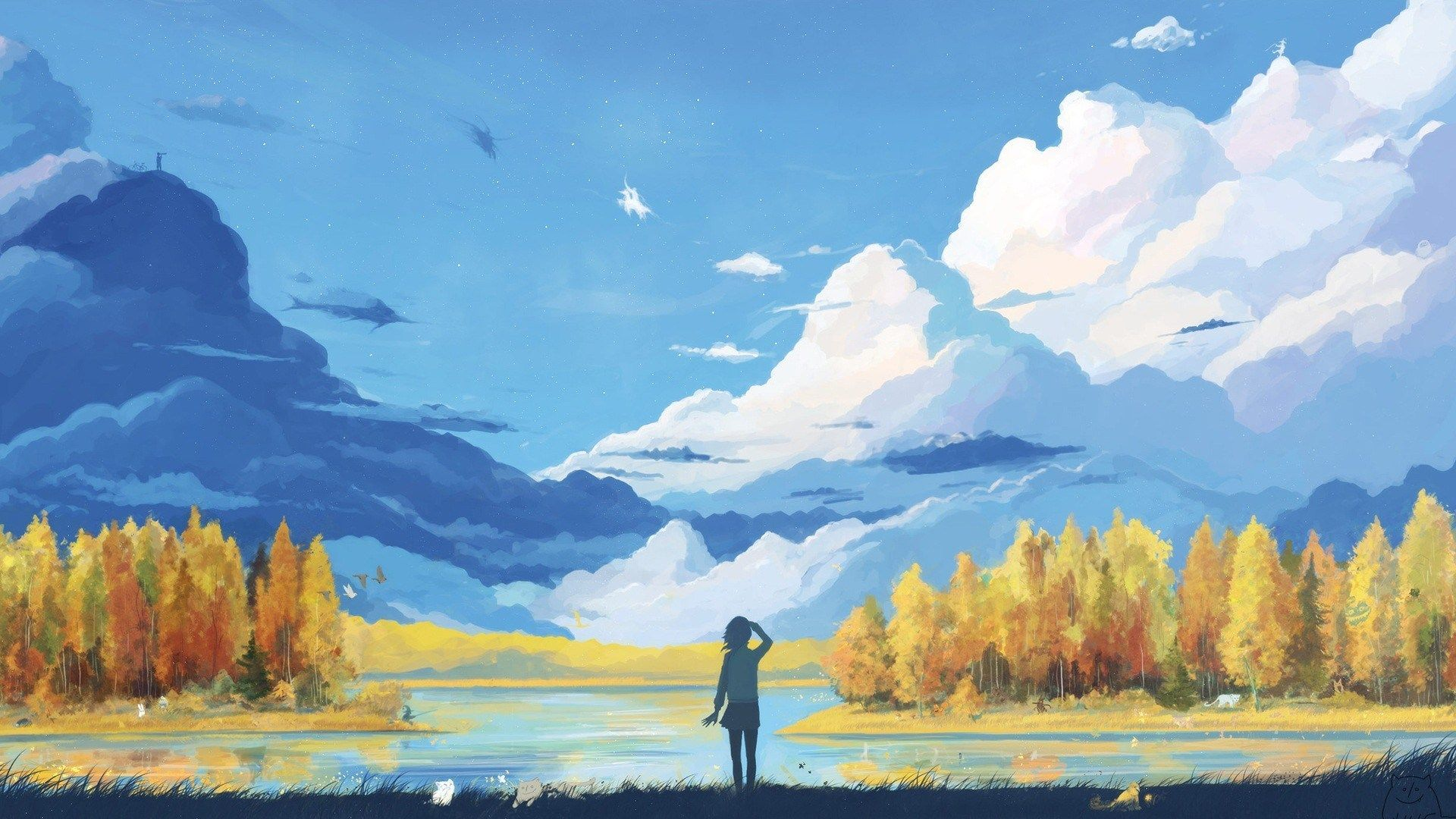 20 Best & Beautiful Anime Art Wallpaper