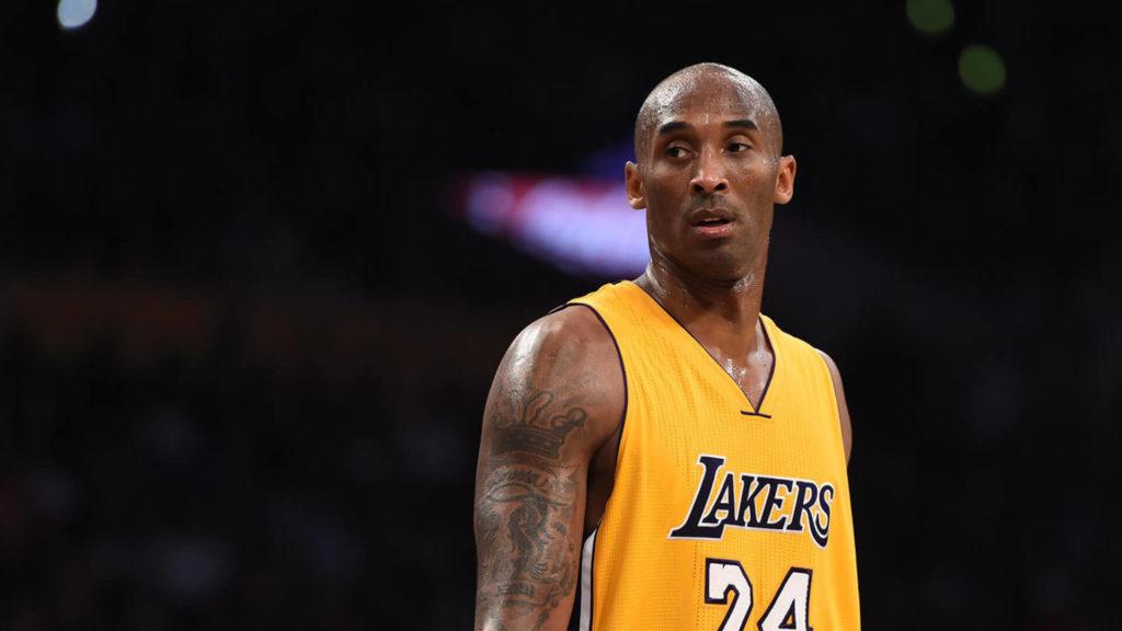 Sad Kobe Bryant