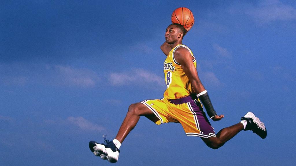 Flying Kobe Briant