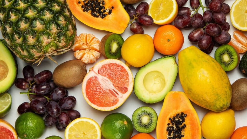 Fruits Images With Top View