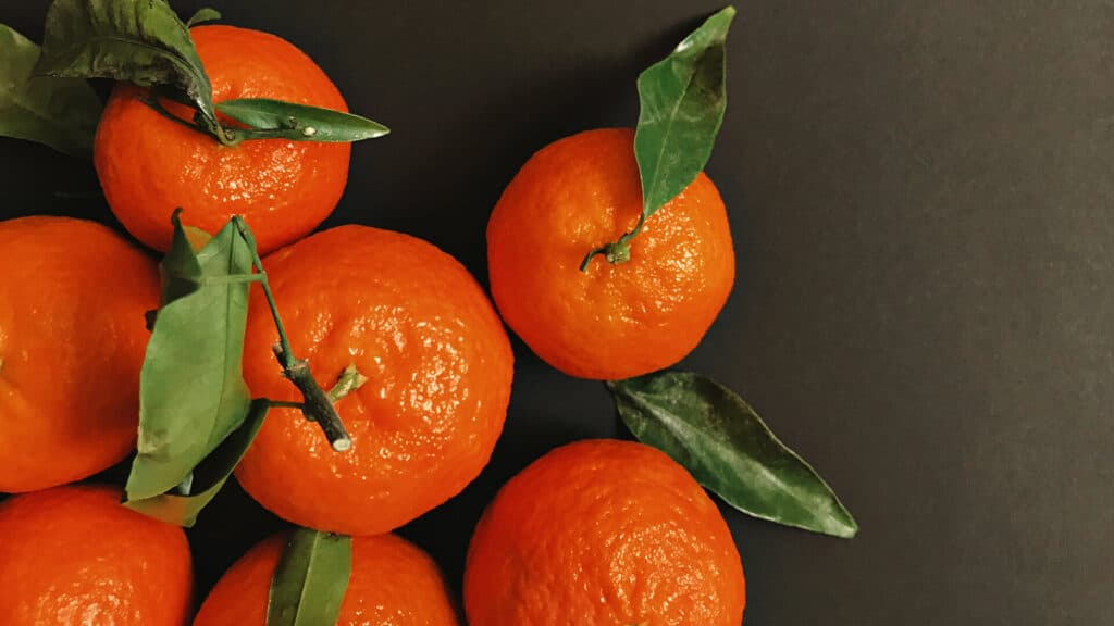 Oranges Fruit Wallpapers from Top View