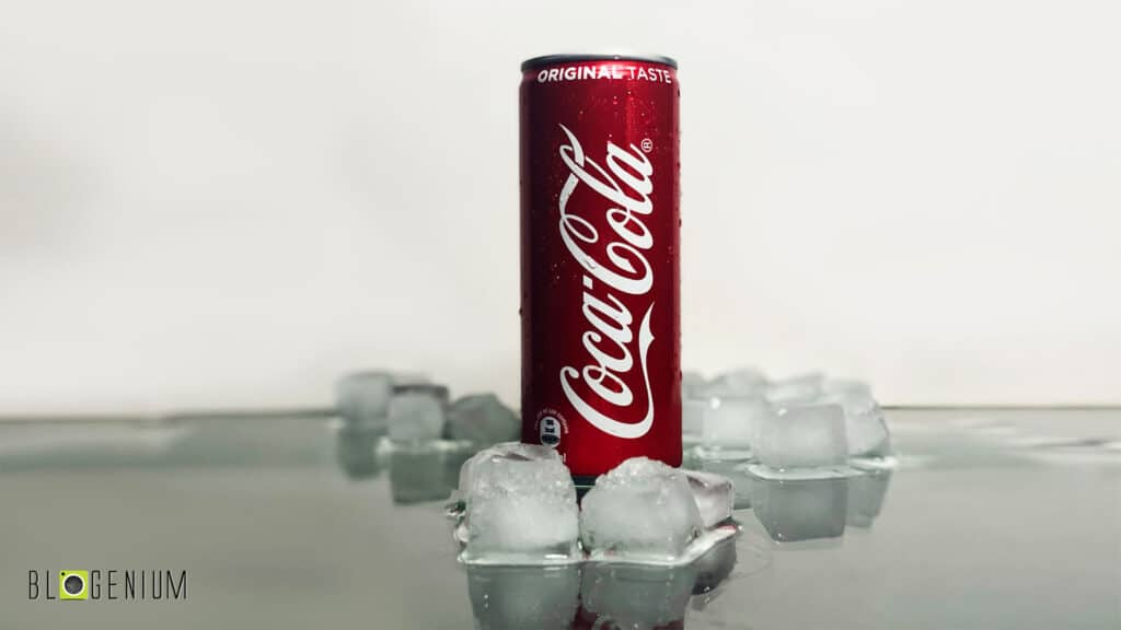 Coke Can in Ice Cubes - Best of Soft Drink Cans