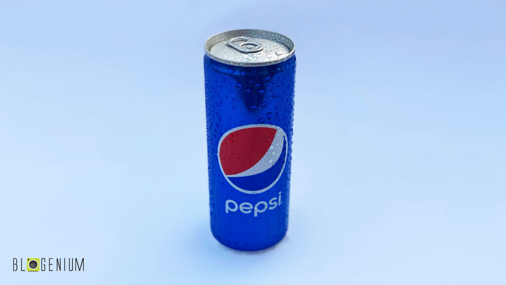 Pepsi Can in Daylight