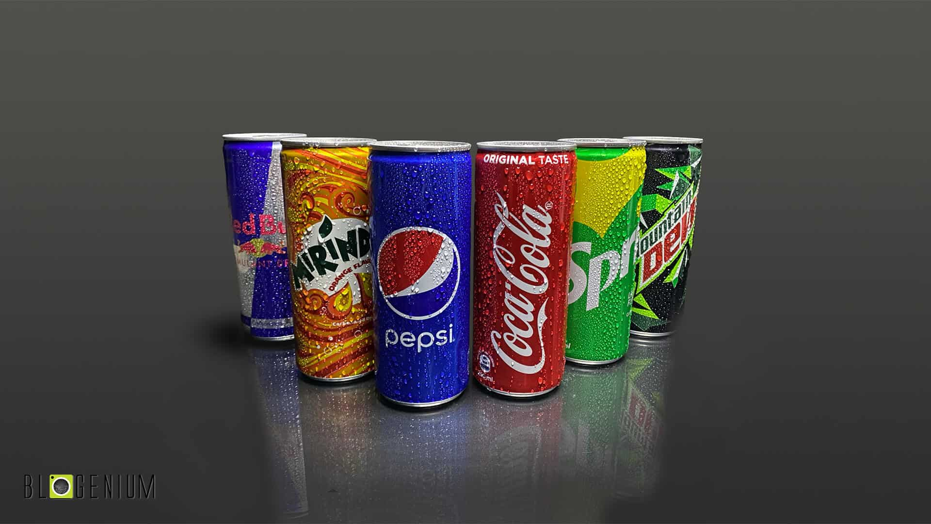 20-Exclusive Pictures of Soft Drink Cans