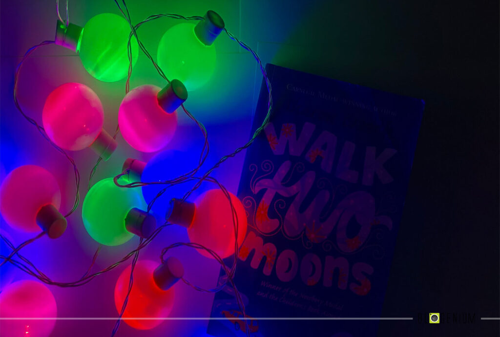 Multi Lights with Walk Two Moons Book