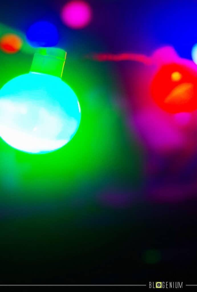 Bright Multi Lights Wallpaper