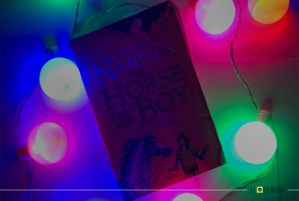 Narnia the Horse and his Boy book with Lights