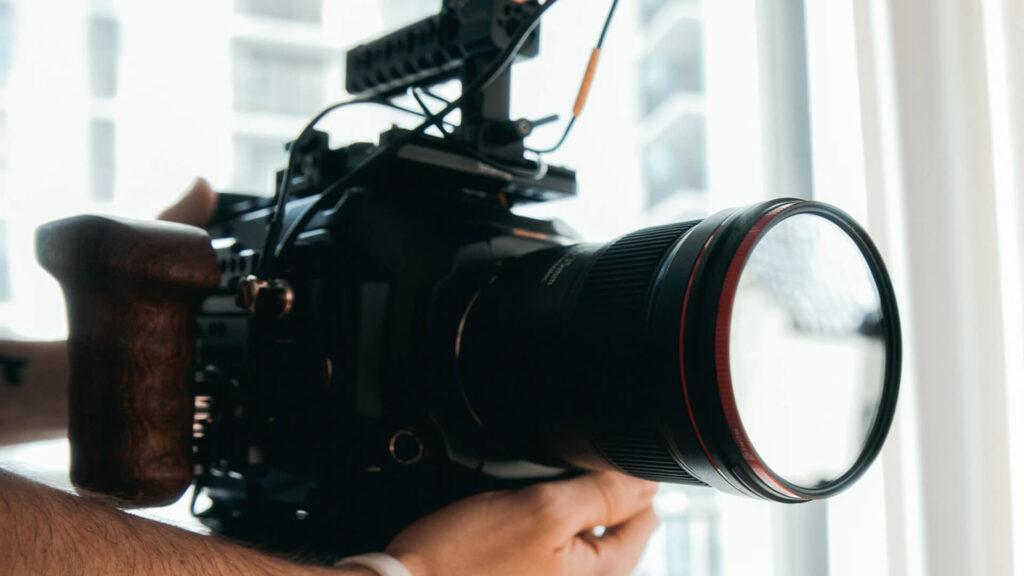 Movie Camera in Picture